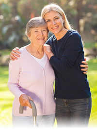 example of a woman with alzheimers and incontinence