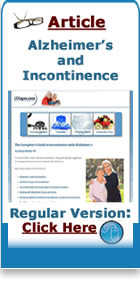 alzheimers and incontinence article