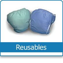 button for reusable adult diapers category