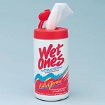 Wet Ones Antibiotic Wipes (KILLS GERMS)