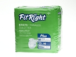 FitRight Plus Briefs (Heavy)   Not for sale: