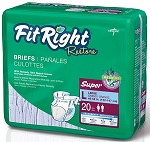 FitRight Restore Briefs - (Overnight)