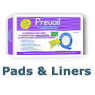 Bladder Control Pads/Pant Liners