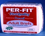 Per-Fit  Frontal Tape Briefs (Heavy)