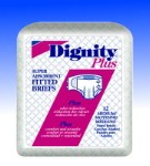 Humanicare Dignity Plus Disposable Fitted Briefs, 2X-Large (Heavy)