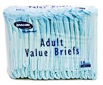 Invacare Economy Series Adult Briefs (Moderate)