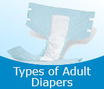Types of Adult Diapers
