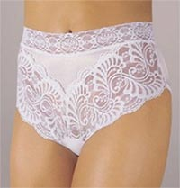 Wearever Lace Trim Incontinence Panties image