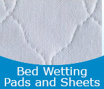 Bed Wetting Pads and Sheets