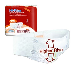 Tranquility Bariatric High Rise Disposable Brief