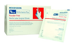 McKesson Perry Performance Plus PF Latex Surgical Glove