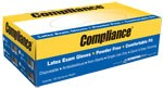 Compliance Powder-Free Latex Gloves