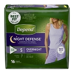Depend Night Defense Pull On Underwear