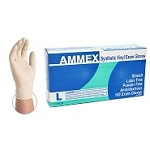 AMMEX Ivory Stretch Vinyl Exam Glove