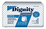 Dignity Complete Disposable Briefs - DISCONTINUED BY MANUFACTURER