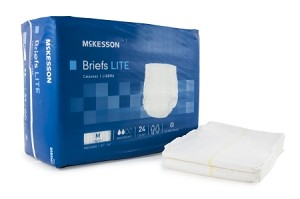 McKesson Light Absorbency Brief