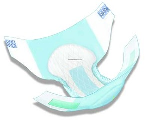 Wings Hook & Loop 3D Adult Briefs (Heavy)